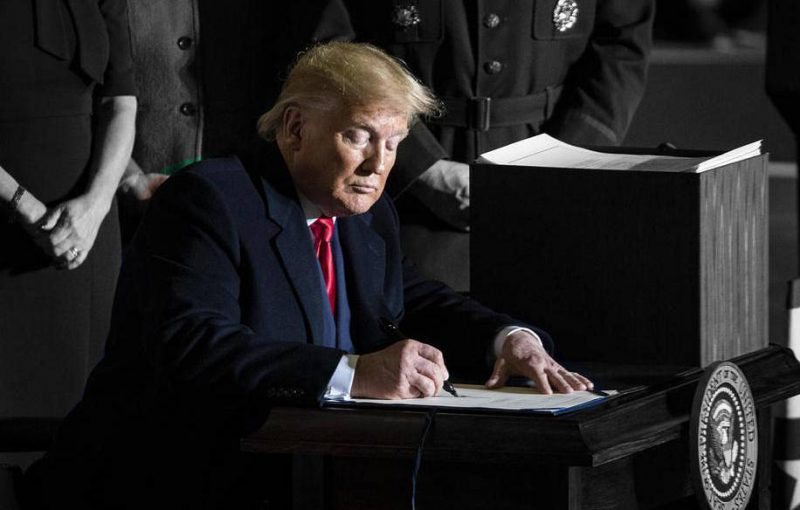 Trump signs Caesar Act sanctioning Syrian regime